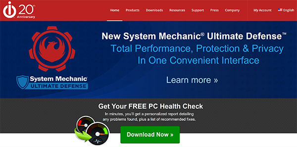 System Mechanic Ultimate Defense review